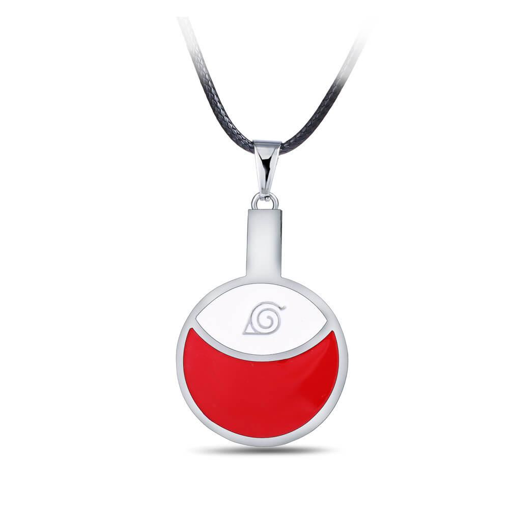 Anime Naruto Uchiha Logo Necklace