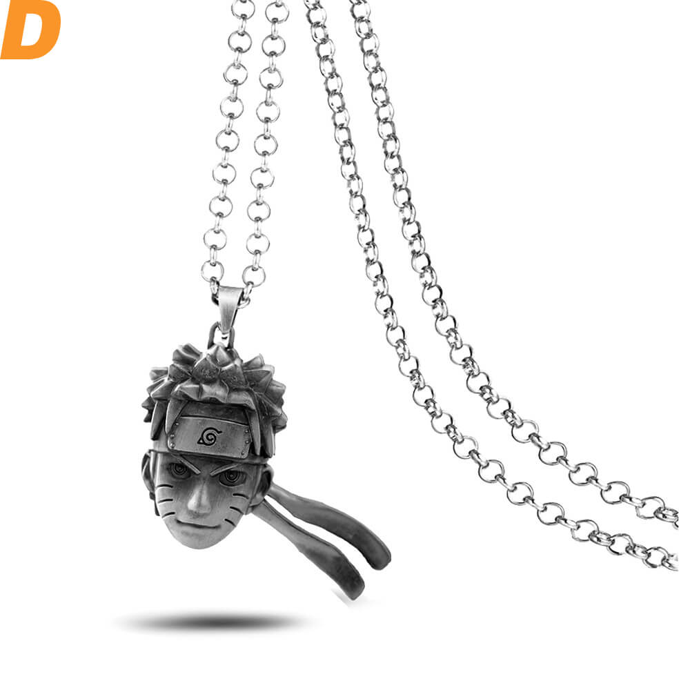 Anime Naruto Uzumaki Naruto Head Logo Keychain Jewelry