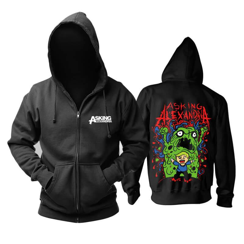 Asking Alexandria Hooded Sweatshirts Uk Metal Rock Band Hoodie