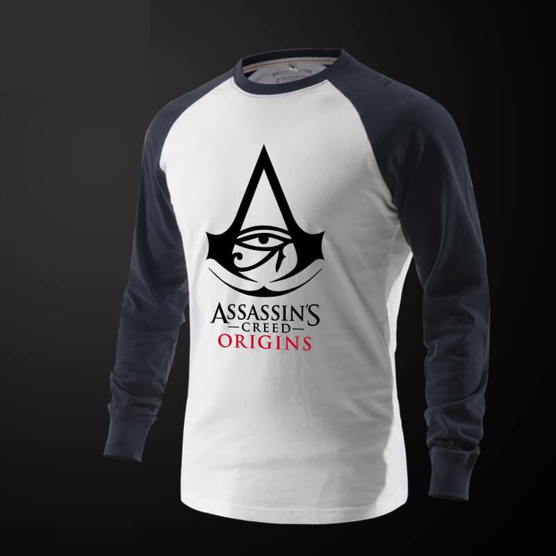 b4f355936f5 ... Assassin s Creed Origins Tričko s dlouhým rukávem Black Tee