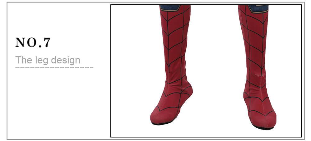 Avengers Infinity War Spiderman Cosplay kostým Tom Holland kostým