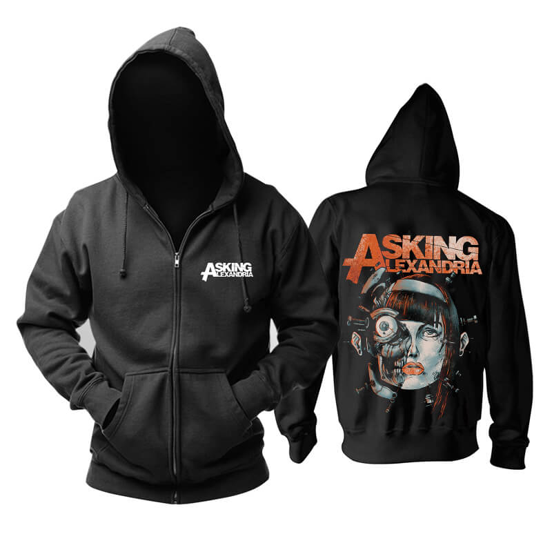 Awesome Asking Alexandria Hoody Uk Hard Rock Metal Rock Band Hoodie
