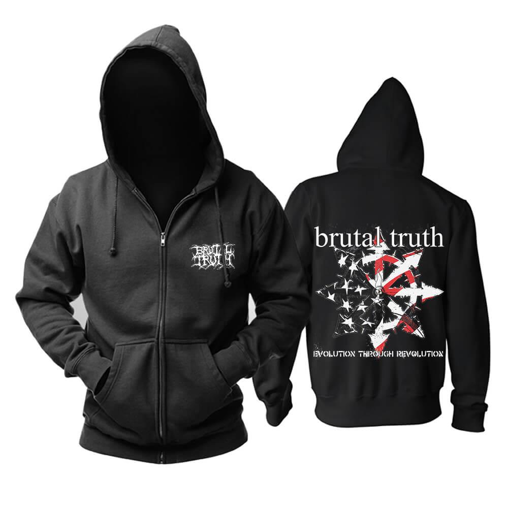Awesome Brutal Truth Hoody Metal Music Hoodie