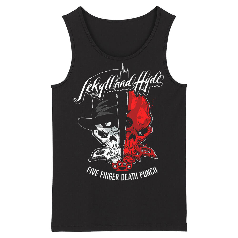 Awesome Five Finger Death Punch Sleeveless Tshirts California Metal Tank Tops