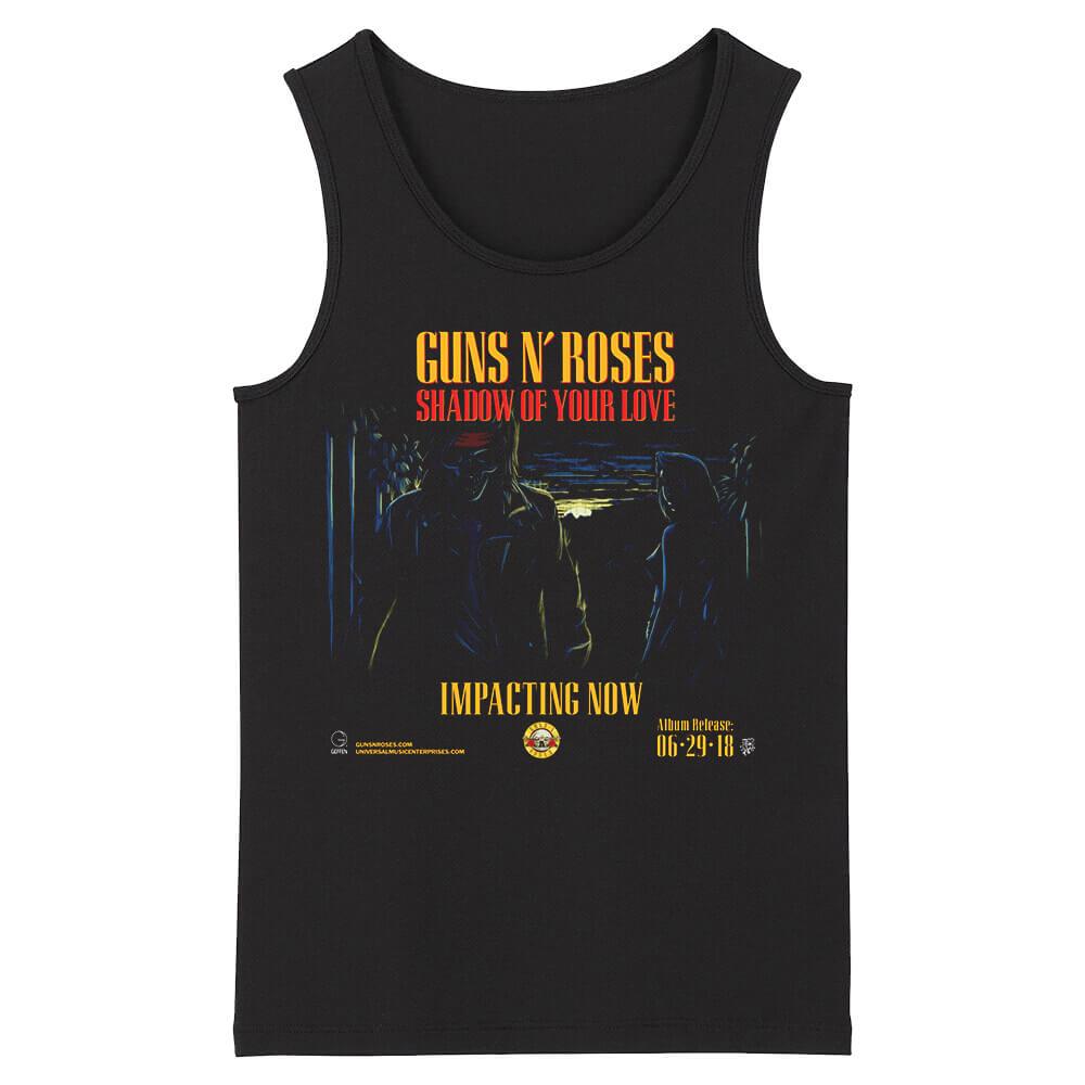 Awesome Guns N' Roses Sleeveless Tee Shirts Us Hard Rock Tank Tops