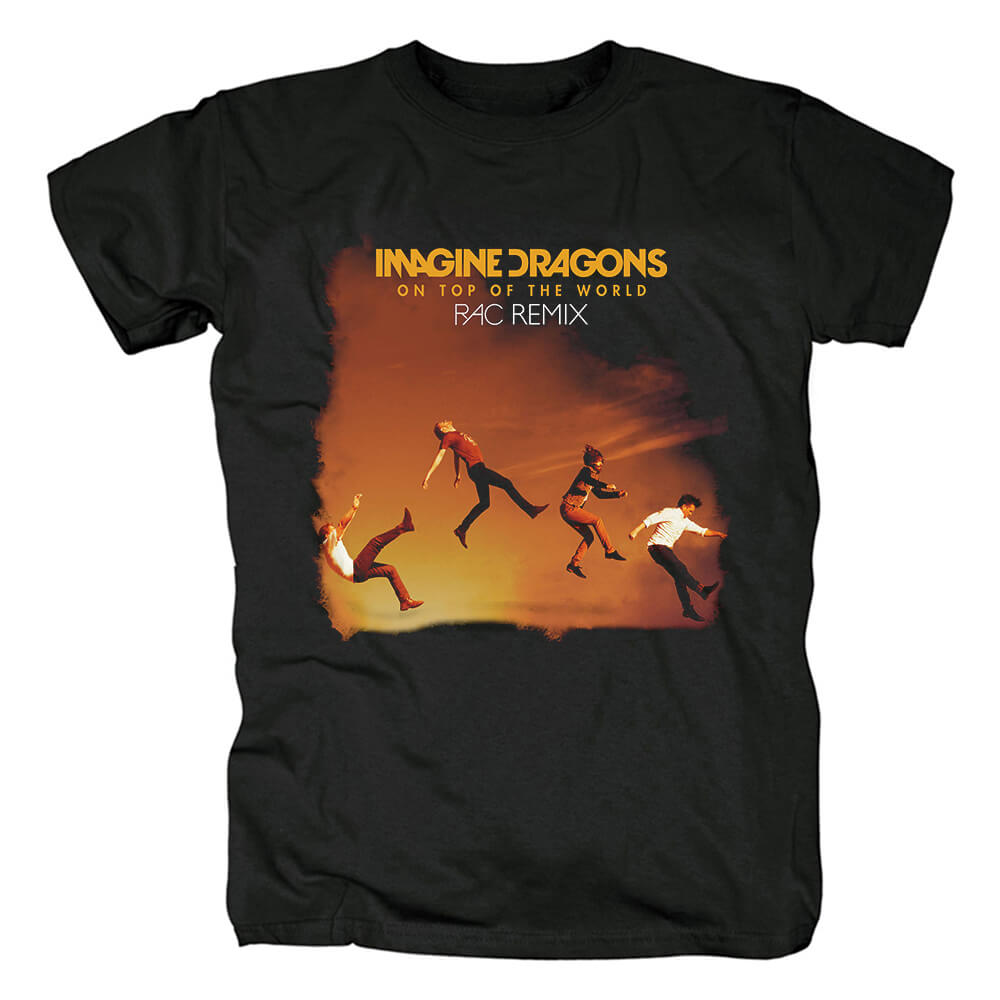 Awesome Imagine Dragons Band On Top Of The World Tees Us Rock T-Shirt