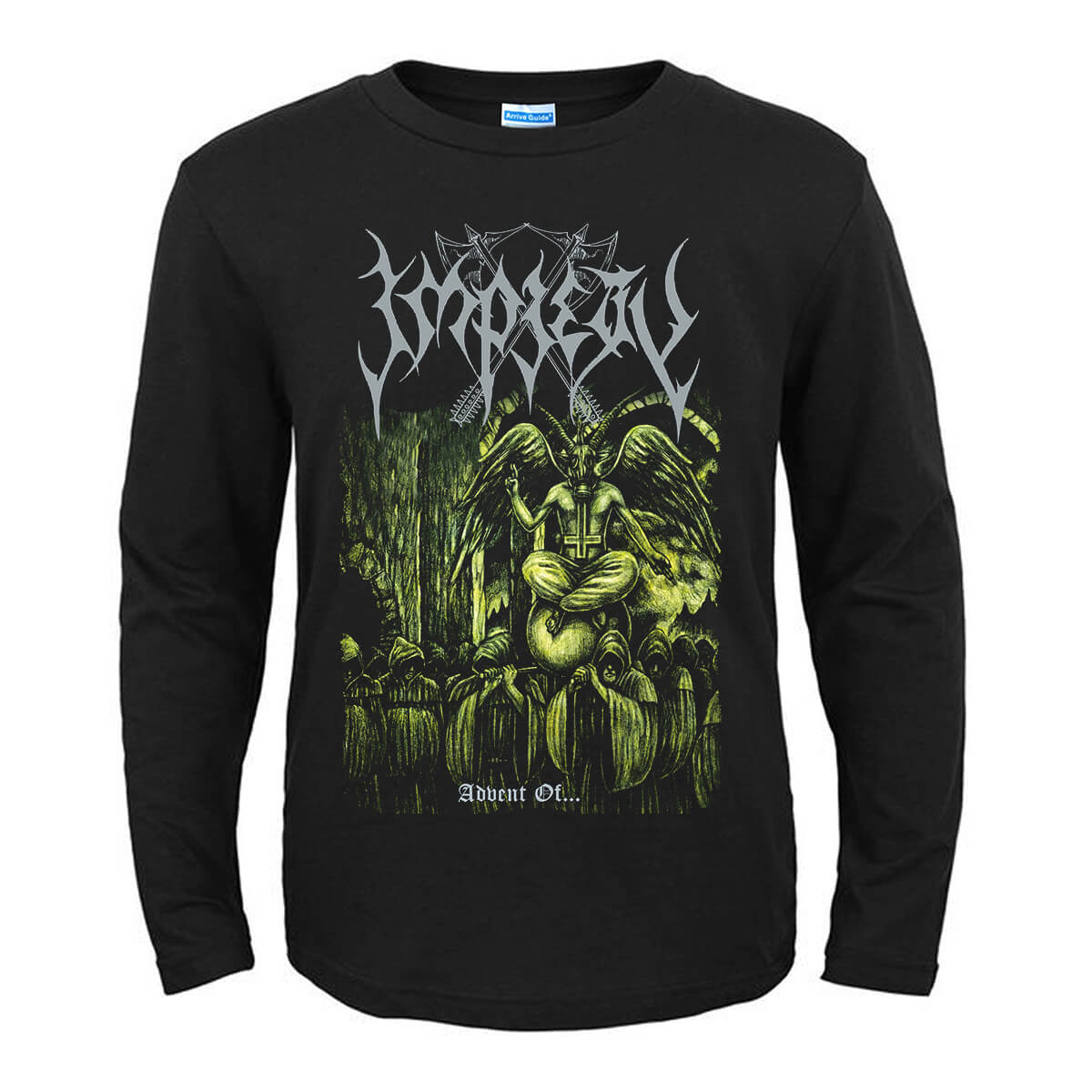 Awesome Impiety Worshippers Of The Seventh Tyranny T-Shirt Metal Graphic Tees