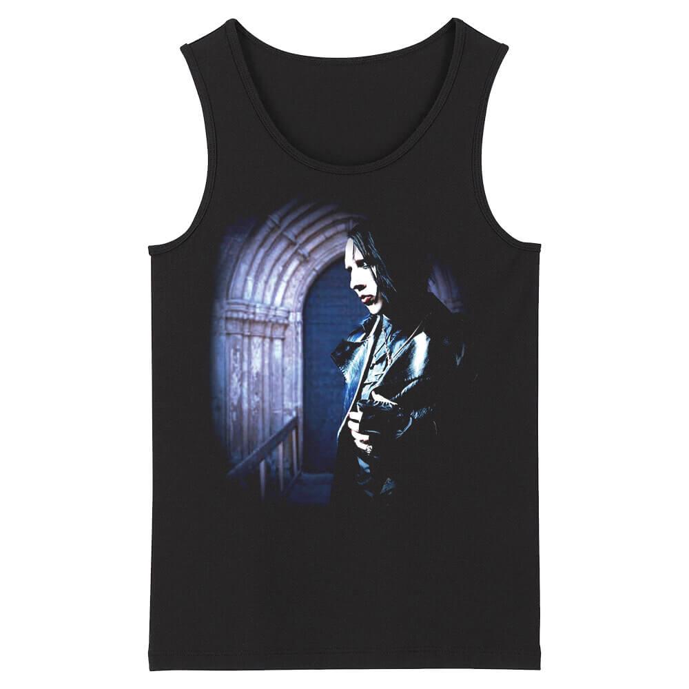 Awesome Marilyn Manson Tank Tops Us Metal Rock Sleeveless Tshirts