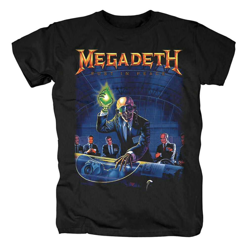 Awesome Megadeth Rust In Peace Tees Us Metal T-Shirt