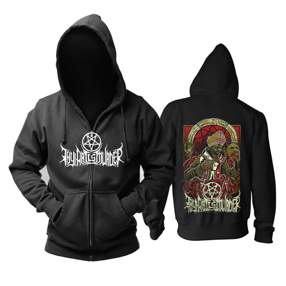 Awesome Thy Art Is Murder Hoodie Metal Music Band Sweatshirts