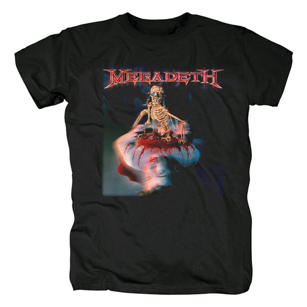 Awesome Us Megadeth The World Needs A Hero T-Shirt Metal Rock Graphic Tees