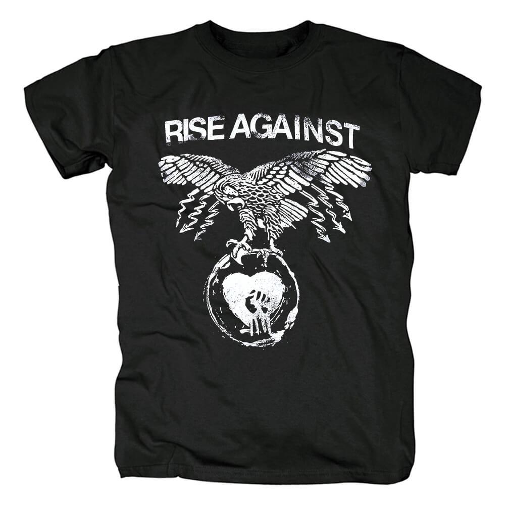 Band Rise Against Tee Shirts Chicago Usa Punk Rock T-Shirt