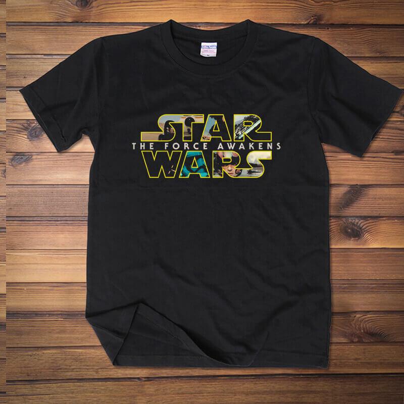 Best Star Wars Logo Tshirt Women Men Red Wine Tee