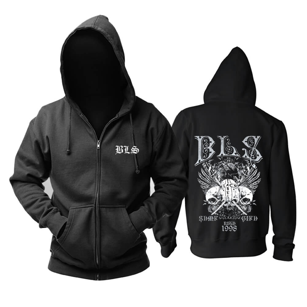 Black Label Society Hooded Sweatshirts Metal Punk Rock Hoodie