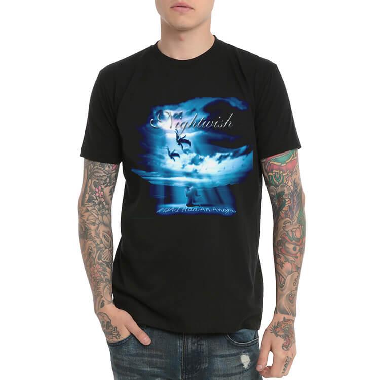 8ce9d8267046 Černá metalová kapela Nightwish tričko pro mládež
