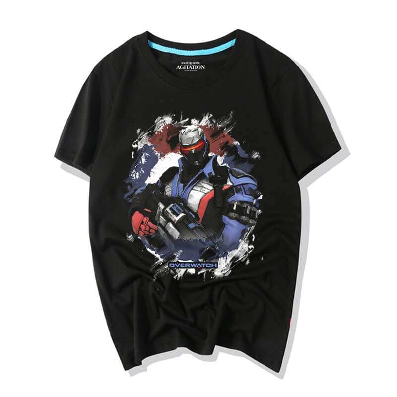 Blizzard Overwatch Soldier 76 Tshirt