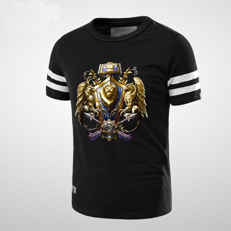 Blizzard WOW Alliance Logo T-shirt for Men