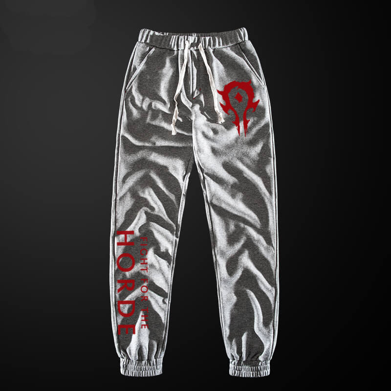 Blizzard WOW Horde Sweatpant World of Warcraft Pencil Pants