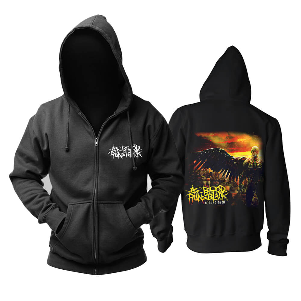 As Blood Runs Black Hoodie Metal Music Sweat Shirt