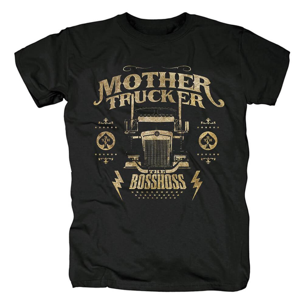 The Bosshoss Mother Trucker T-Shirt Metal Rock Shirts