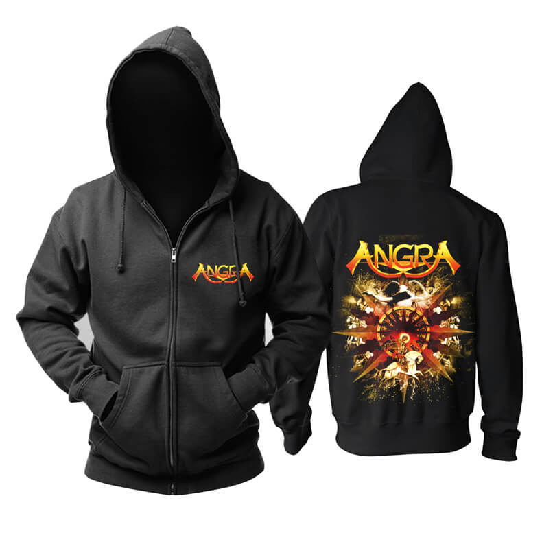 Brazil Angra Hoodie Metal Rock Sweat Shirt