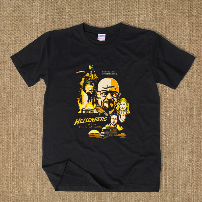 Breaking Bad Characters T-shirt for Men