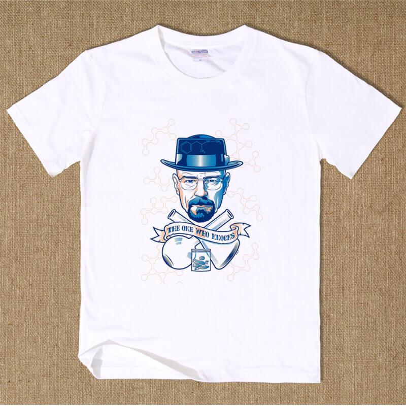 Breaking Bad Heisenberg Tshirt Black XXL Cotton Tee
