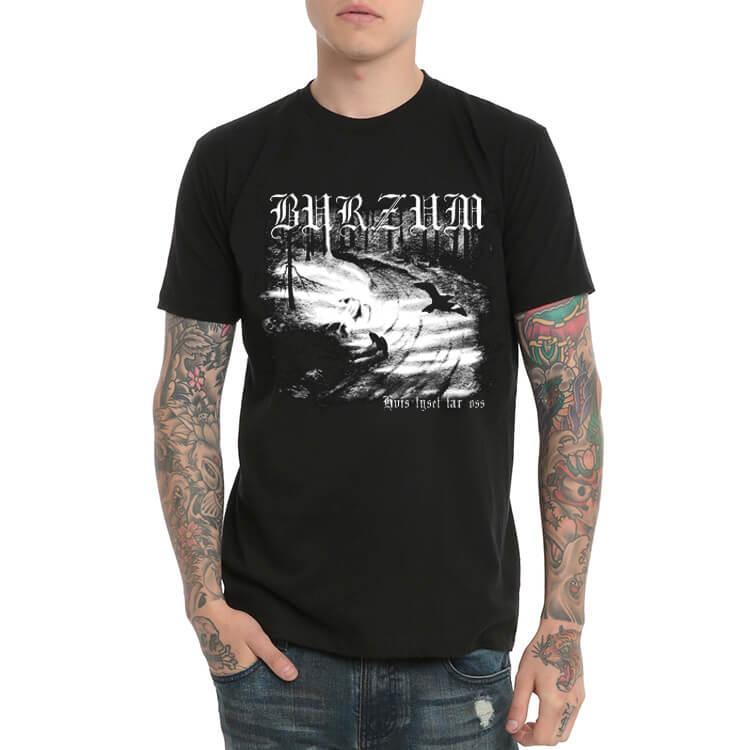Burzum Varg Black Metal Tshirt for Youth | Wishiny