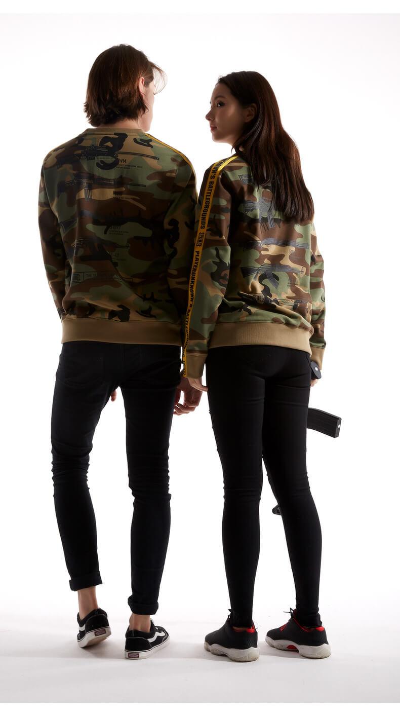 Camouflage Playerunknown'S Battlegrounds Hoodie 3XL Pubg Armory Sweatshirt