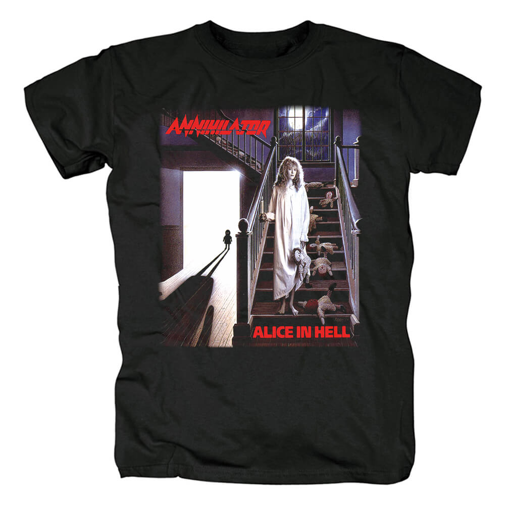 Canada Annihilator T-Shirt Metal Rock Band Graphic Tees