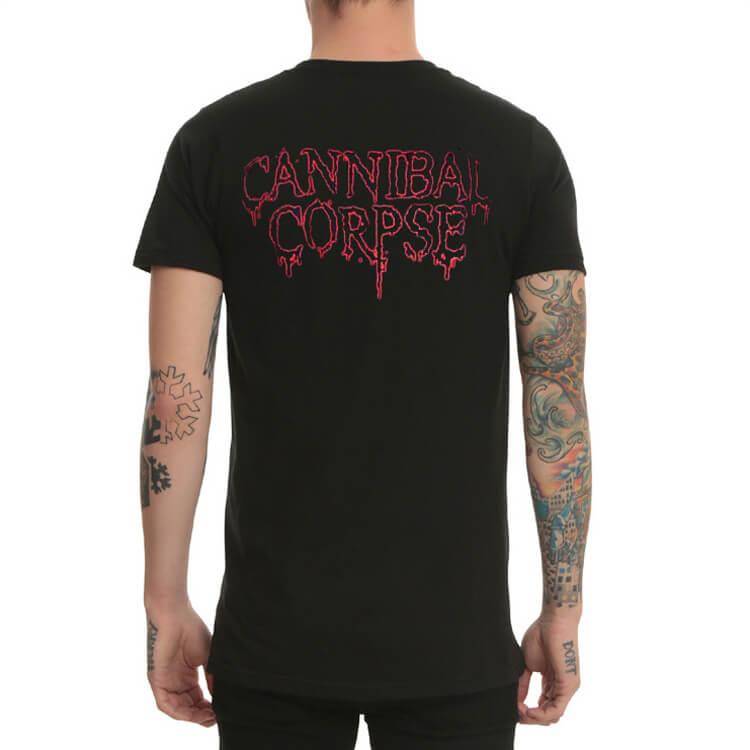 CANNIBAL CORPSE PUNK ROCK BLACK METAL T SHIRT MEN/'S SIZES