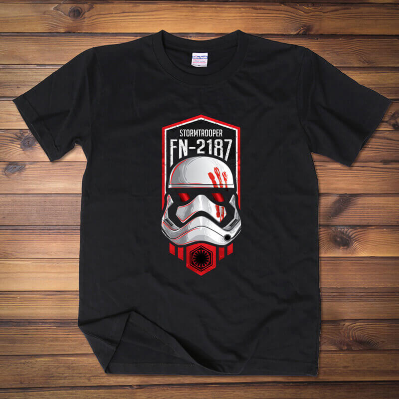 Cartoon Star Wars The Force Awakens Tshirt