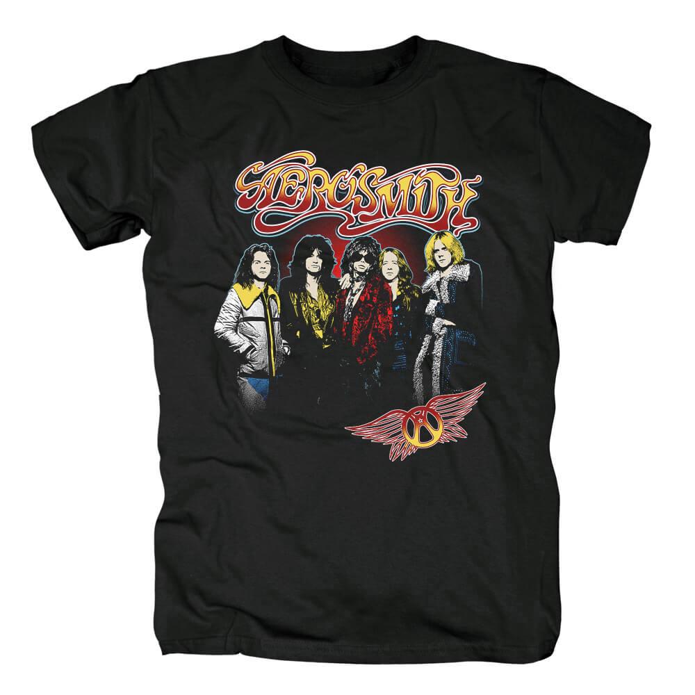 Cool Aerosmith Band Tees Us Punk Rock T-Shirt