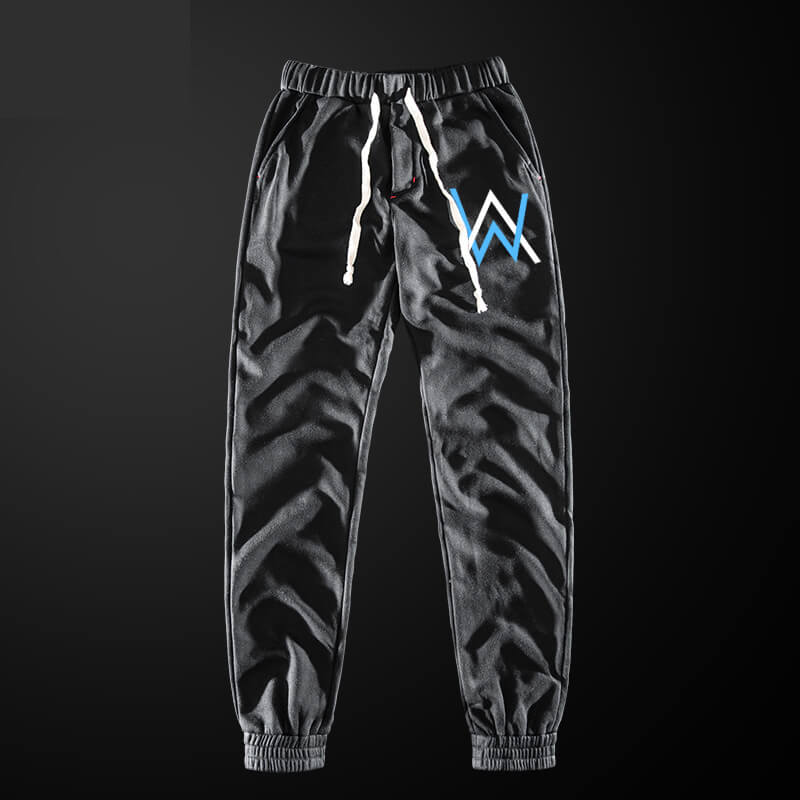 Cool Alan Walker Sweatpants Blue Drawstring Sweatpants