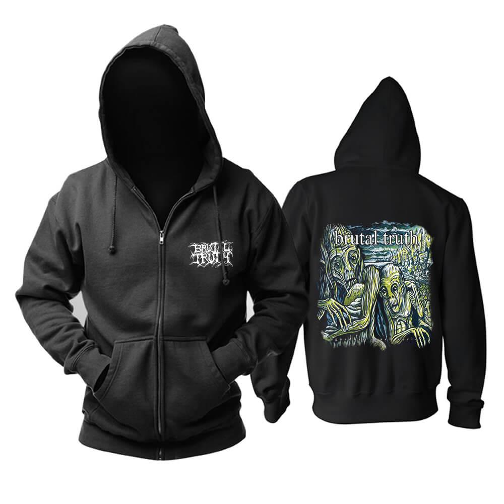 Cool Brutal Truth Hoodie Metal Music Sweatshirts