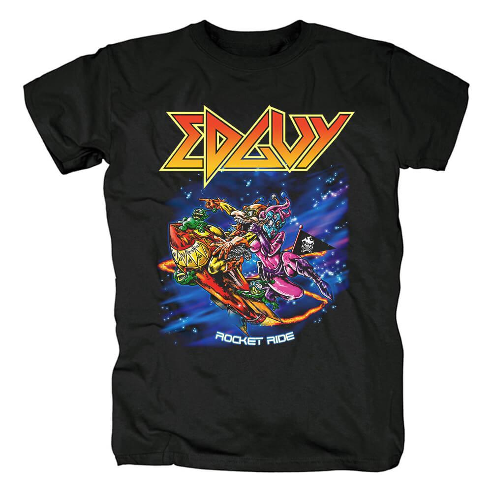 Cool Edguy Band Rocket Ride T-Shirt Metal Rock Shirts