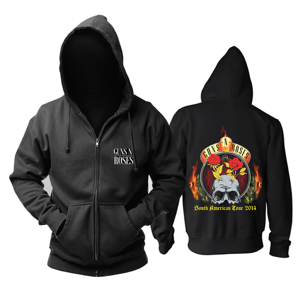Cool Guns N'Roses Hoodie Punk Rock Sweatshirts