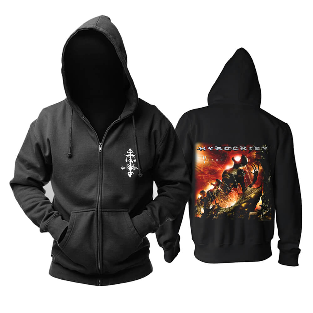 Cool Hypocrisy Hoodie Sweden Metal Punk Rock Band Sweatshirts