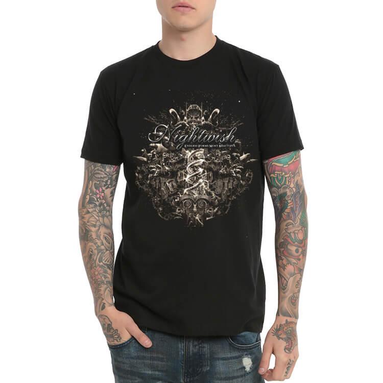 Nightwish Camiseta de Manga Larga para Hombre