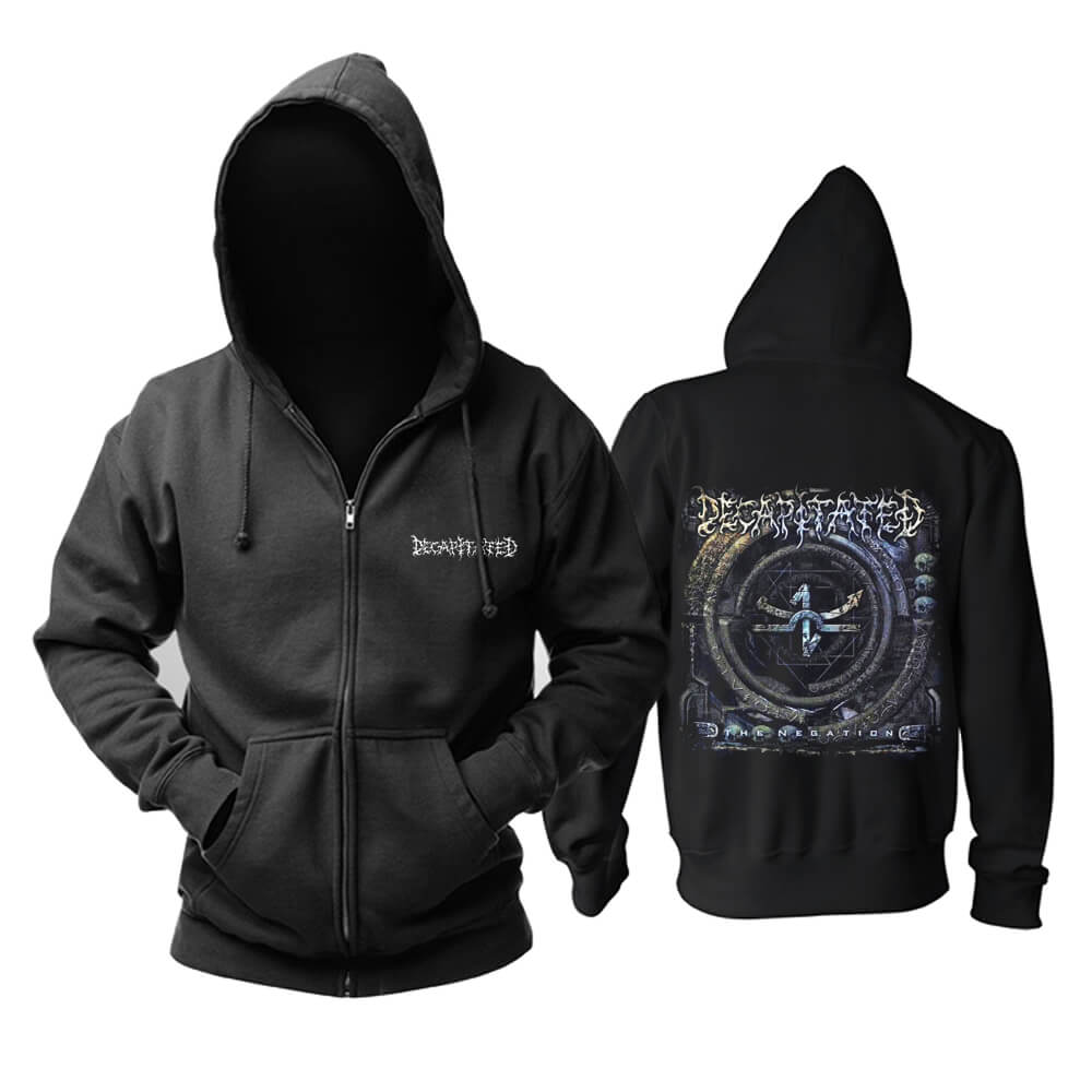 Cool Poland Decapitated Hoodie Metal Music Sweat Shirt