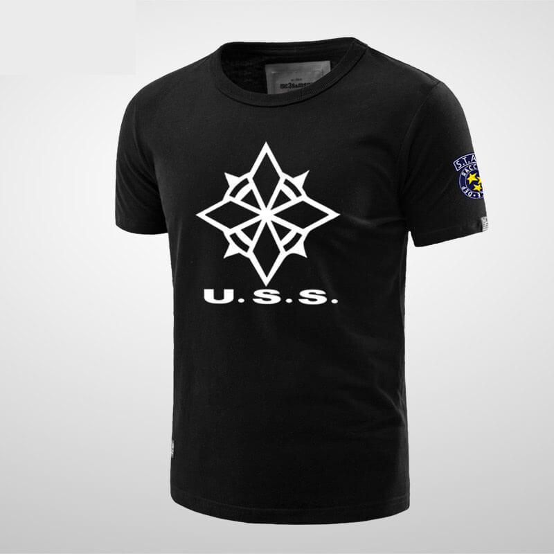 Cool Resident Evil Uss Tee Shirt