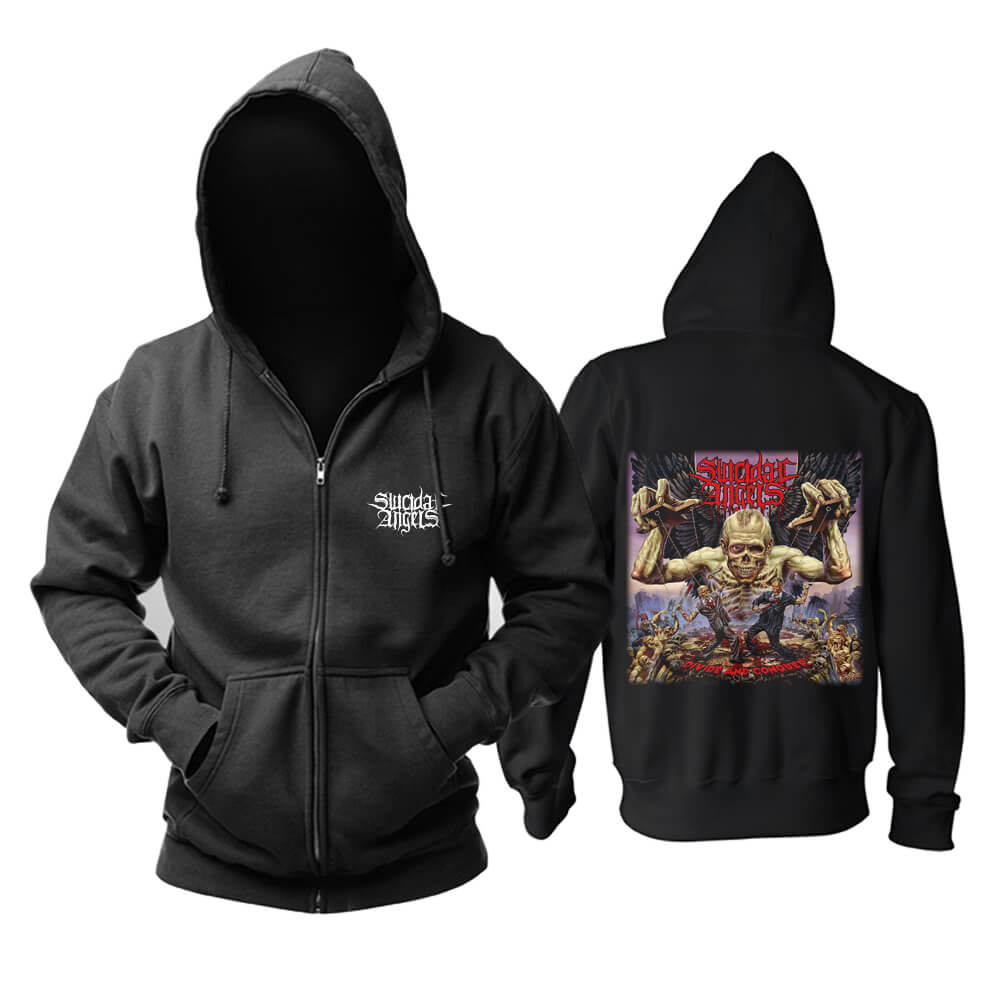 Cool Suicidal Angels Hoody Greece Metal Music Hoodie