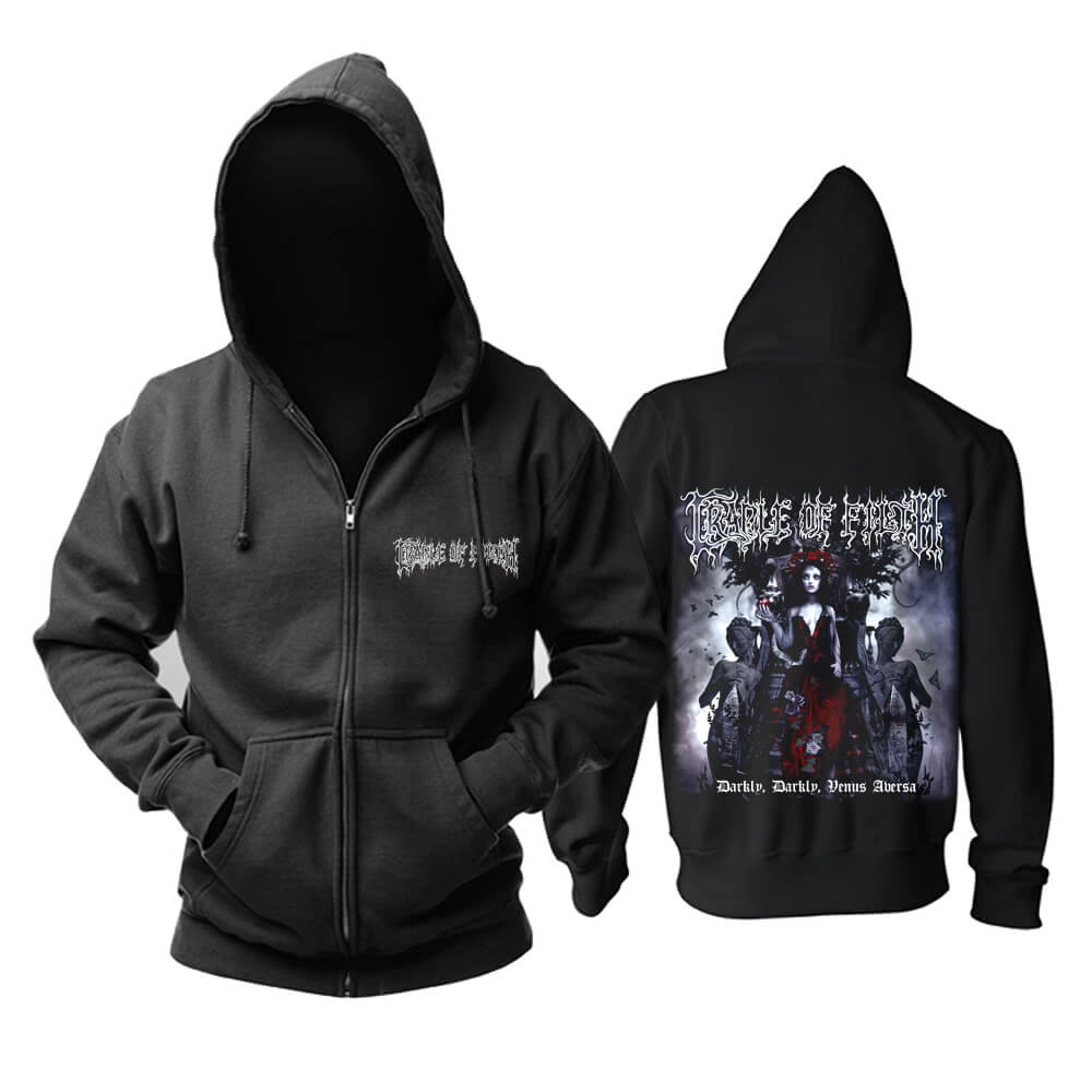 Cradle Of Filth Hammer of the witches hooded sweatshirts UK Metal Music Hoodie