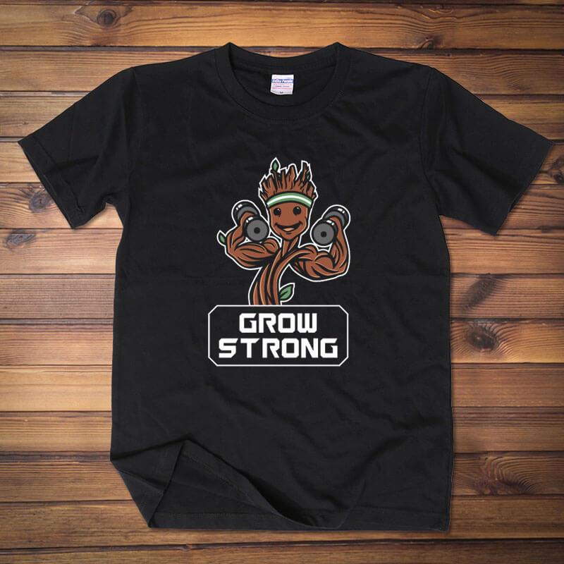 Cute Groot T-shirt Garden Of The Galaxy Character Tee Shirt