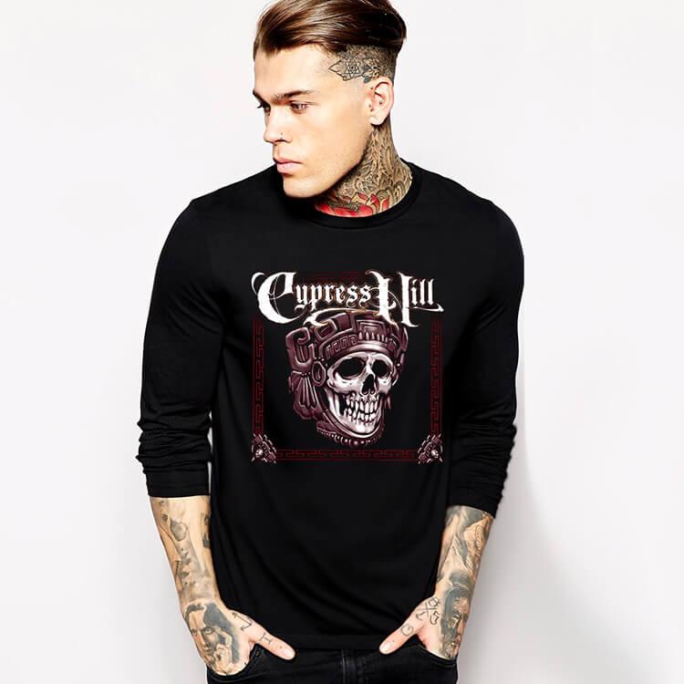 4e86701a7 Cypress Hill tričko s dlhým rukávom Hiphop Rap Tee | Wishiny