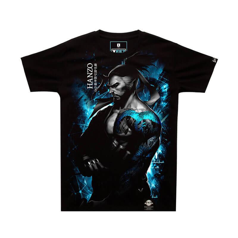 Dark Series Blizzard Overwatch Hanzo T-shirt