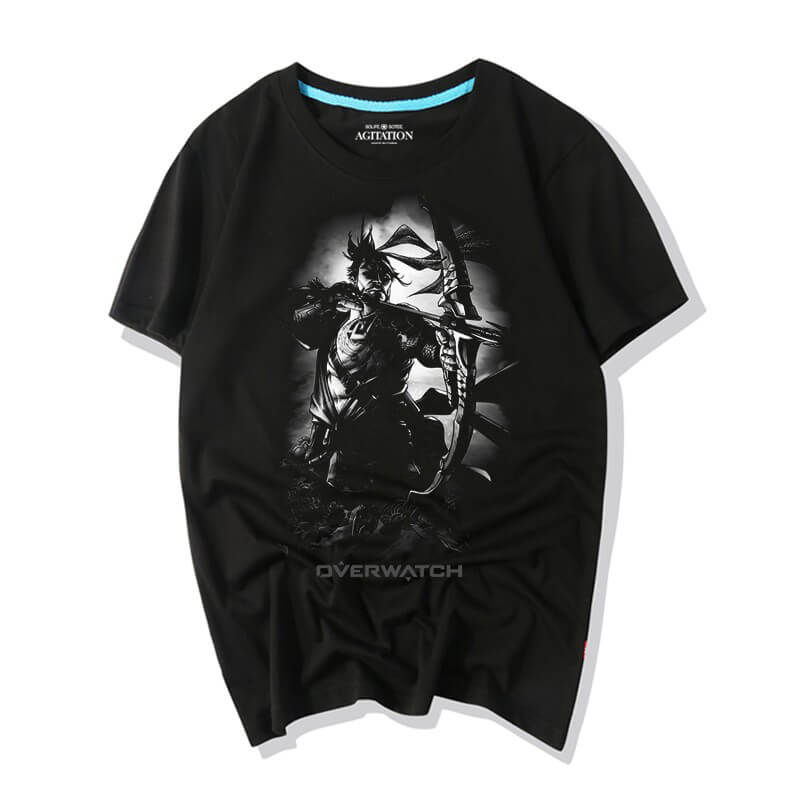 Darkness Hanzo Tshirts Overwatch Top