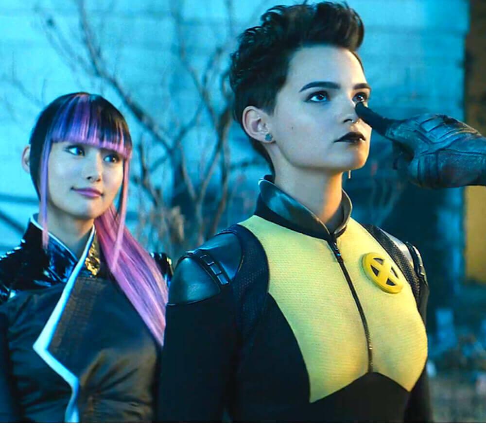 Deadpool 2 Negasonic Teenage Warhead Cosplay Costume Halloween Ellie Phimister Jumpsuit