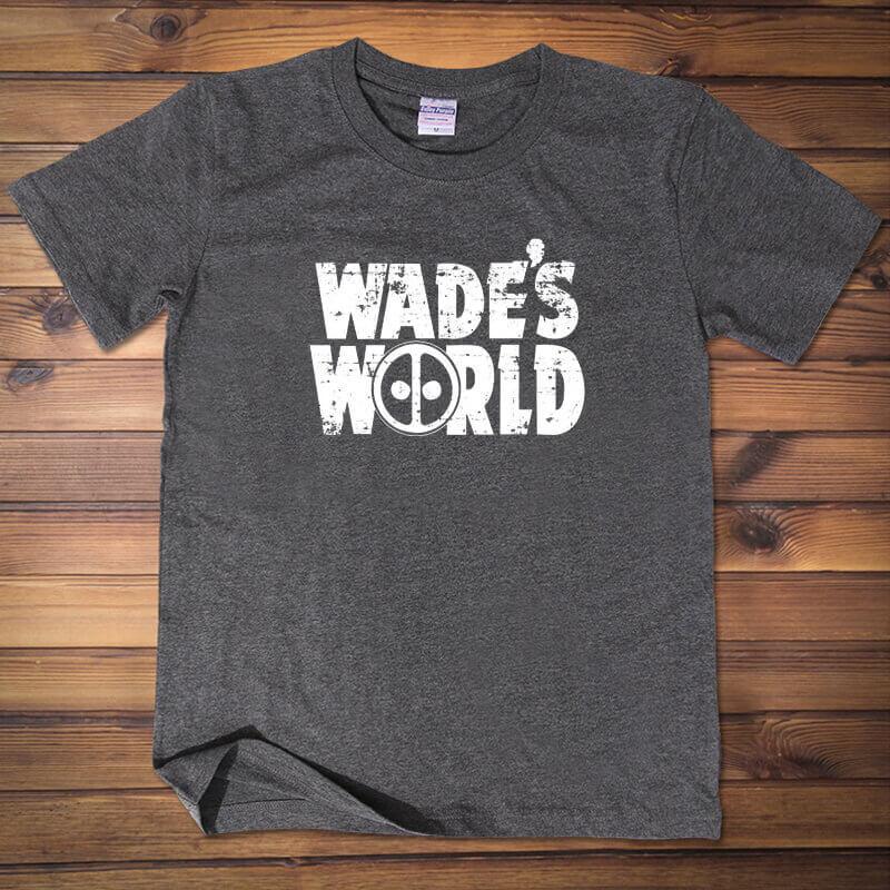 Deadpool Taco Shirt Wade's World Tshirt Mens