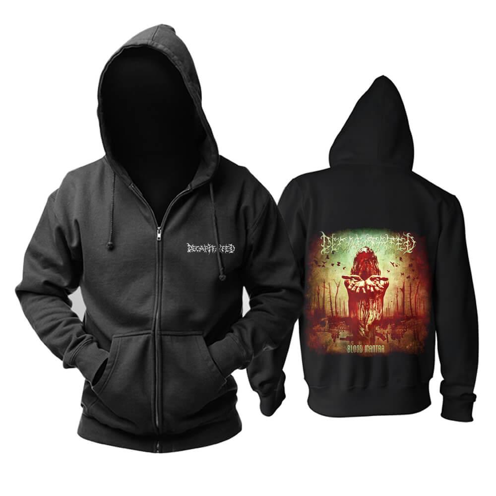 Decapitated Blood Mantra Hooded Sweatshirts Poland Metal Music Band Hoodie